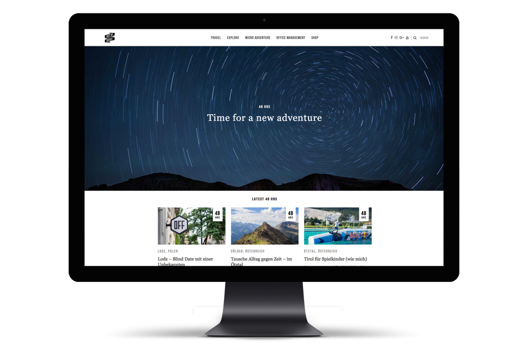 Relaunch of the travel blog OUT OF OFFICE – www.oooyeah.de